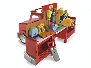 Fisher Price Handy Manny 2 In 1 Transforming Truck Amazon