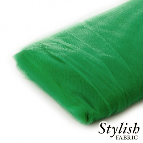 (Kelly Green Tulle Fabric - 40 Yards Per Bolt)