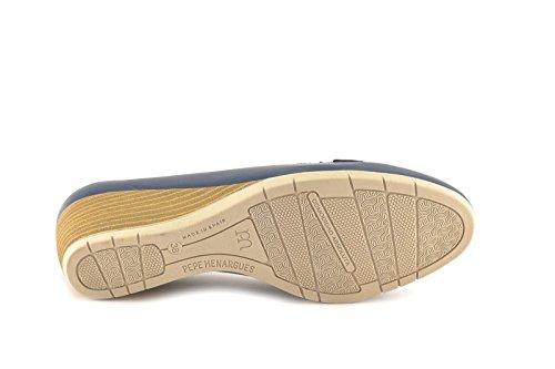 ConBuenPie by Tupie - modelo 101 - Calzado de Piel estilo Casual para Mujer Color Marino Marino