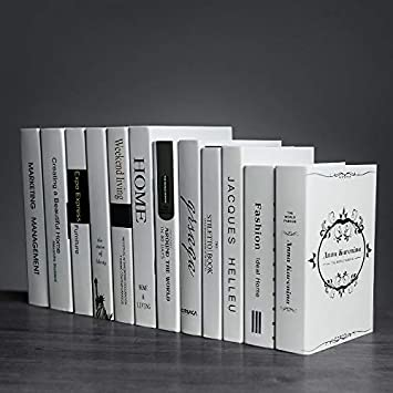 Modern Simple Fake Books In Old Times Decoration Bookshelves
