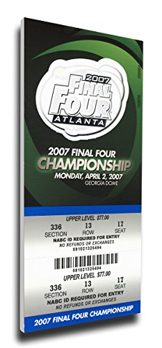 NCAA 2007 Final Four Mega Ticket by That's My Ticket