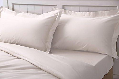 Set de sábanas de algodón percal de lujo, bajeras y fundas de ...