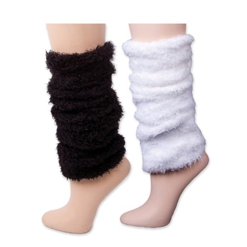 K. Bell Faux Fur Leg Warmer (9-11,