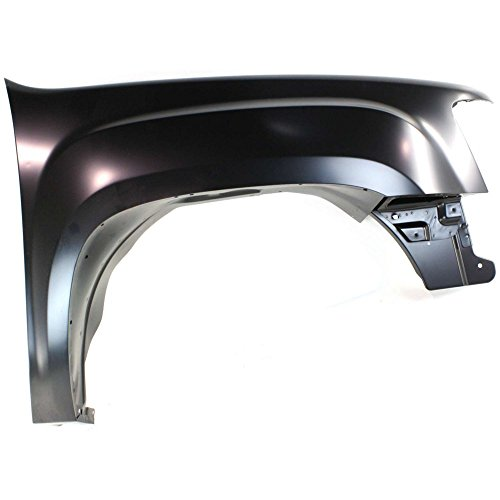 Fender for Sierra 1500 07-13 2500/3500 07-14 RH Steel New Body Style Front Right Side ()