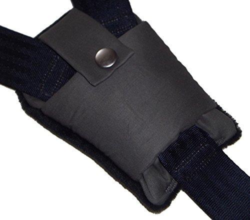 Baby Grey Buckle Strap Crotch Car Seat Pram Highchair Harness Cover Belt Pad BN Handmade in Heaven