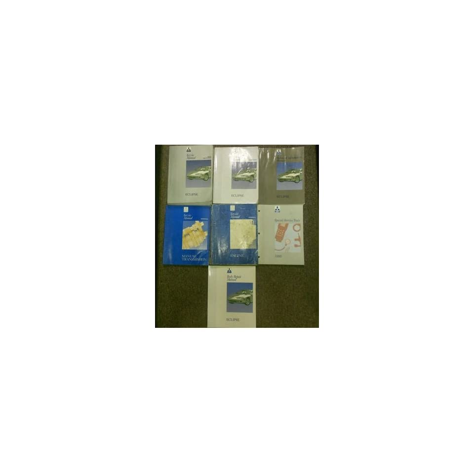 1995 MITSUBISHI Eclipse Service Repair Shop Manual 7 VOL SET FACTORY OEM BOOK 95