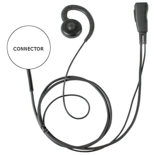 PRYME Pro-Grade Earhook Earpiece for MOTOROLA CLP1010 CLP1040 CLP1060 Radio by Pryme