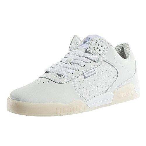 Supra - Zapatos Para Hombre Ellington Raya Blanca / Blanca Barato Venta Low Shipping Fee hE8c0