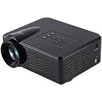 LESHP 800 Lumens Video Projector Portable Game Projector for Video Games, Movie Night, DVD Player, Via HDMI/USB/SD/VGA/AV/Micro/ATV,Laptops, Tablets, Smartphones