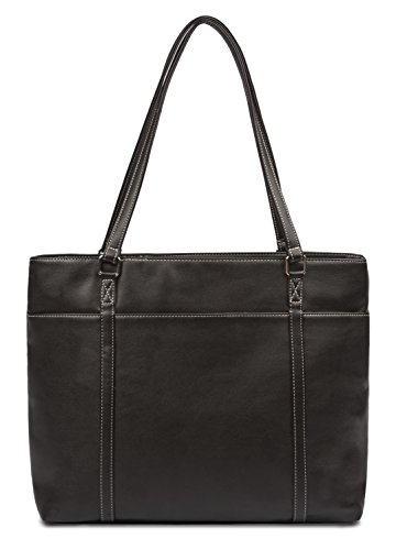Overbrooke Classic Womens Tote Bag for Laptops  up to 15.6 Inches, (Medium Laptop Brief)