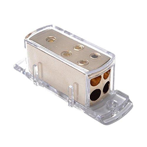 - Non-Brand Car Audio Stereo Power Ground Wire Splitter Distribution Block 4-Way 4/8 GA