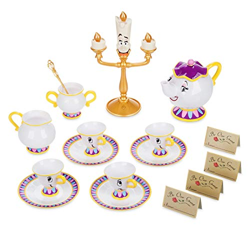 Disney Store Beauty And The Beast Be Our Guest Singing Tea Import