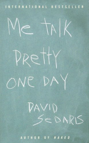 Me Talk Pretty One Day cover