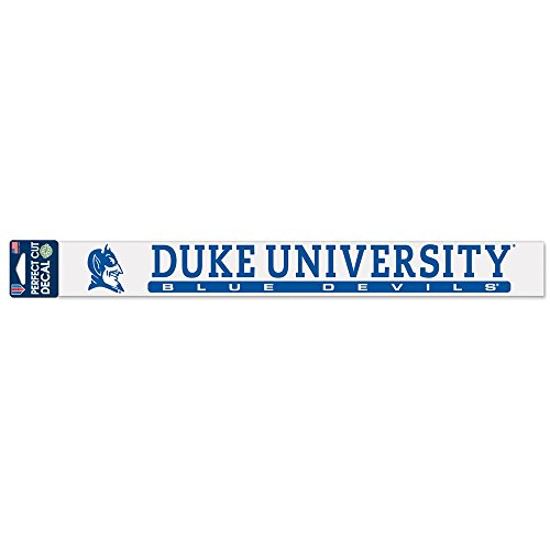 (WinCraft NCAA Duke University WCR25085014 Perfect Cut Decals, 2