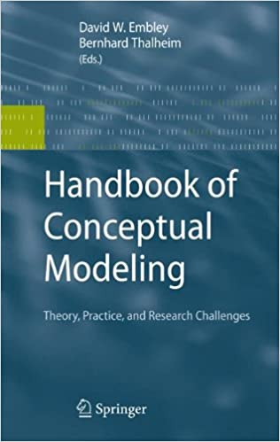 Book Handbook of Conceptual Modeling: Theory, Practice, and Research Challenges