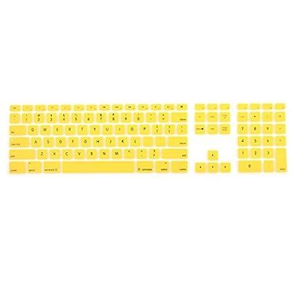 eDealMax silicona alambre Protector del teclado de película de la cubierta w teclado numérico Para Apple