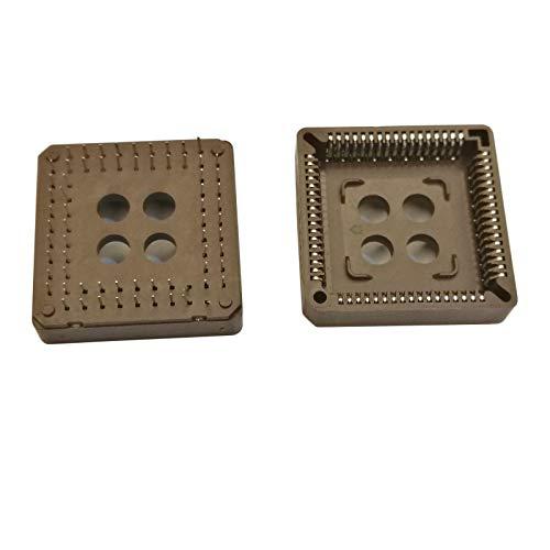 Plcc Ic Socket - 10pcs PLCC68 68 Pin 68Pin DIP IC Socket Adapter PLCC Converter