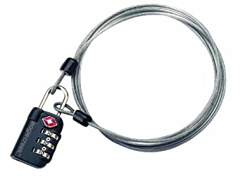 Amazon.com: Eagle Creek Travel Gear 3 Dial TSA Lock and Cable ...