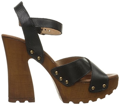 Naela Women amp; Heeled Cloud Black Musse Sandal wq7Pt