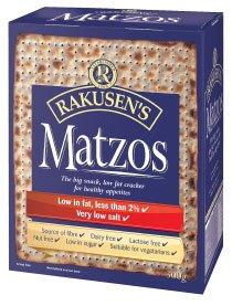 Rakusen's Matzos Kosher Jewish Food (Kosher Jewish Food)