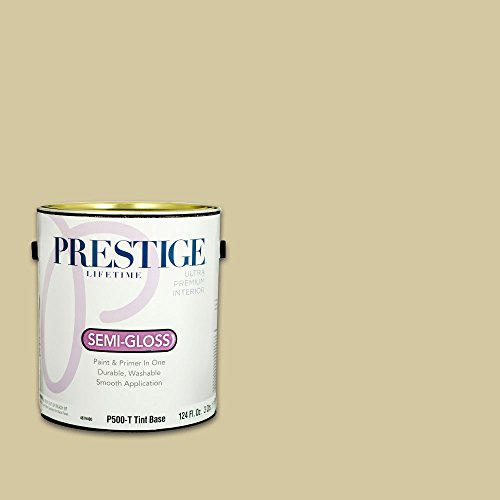 Prestige, Greens and Aquas 1 of 9, Interior Paint and Primer In One, 1-Gallon, Semi-Gloss, New Meadow