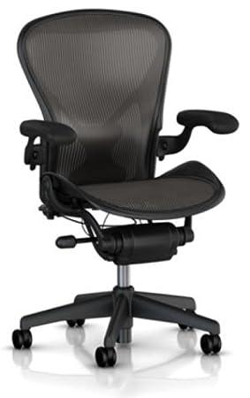 Amazon.com: TWO - Herman Miller Aeron Chair Large Size (C ...