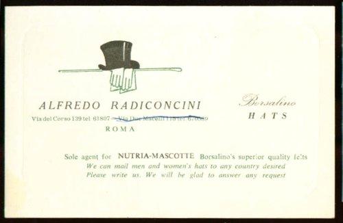 alfredo-radiconcini-borsalino-hat-card-rome-1930s