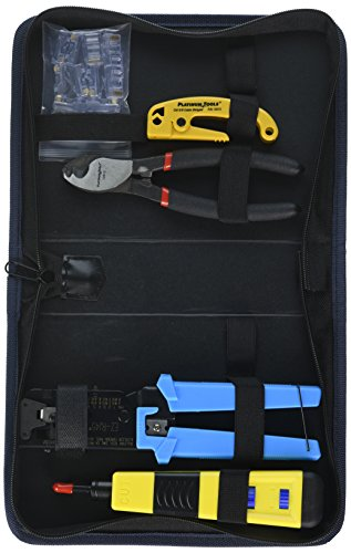 Platinum Tools 90122 Twisted Pair Termination Kit, w/Zip Case. Box. (Zip Twisted)