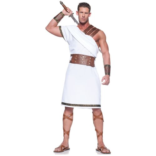 Greek Warrior Adult Costume - One Size]()