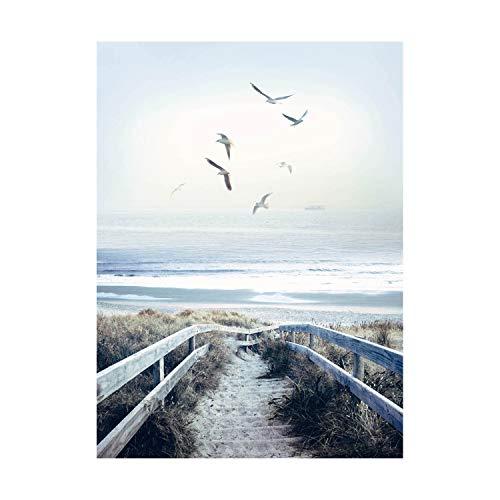 - Hoffman Digital Call Of The Wild 32'' Beach Steps Panel Atlantic Fabric
