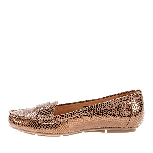 mujer Vionic Chill Snake Bronze Larrun Loafer qqrATOcxwd
