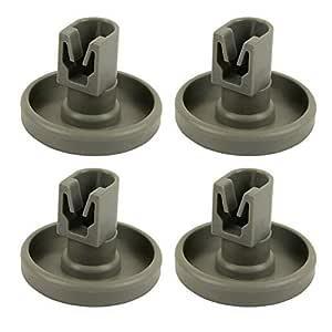 Cutogain Kit de reparación de Accesorios de Pieza de Rueda de Rodillo para lavavajillas 4 / 8pcs para AEG Favorit