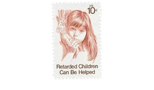 Retarded Child Full Sheet Of 50 X 10 Cent Us Postage Stamps Scot 1549 US Mail Christmas Gift Ideas 2018