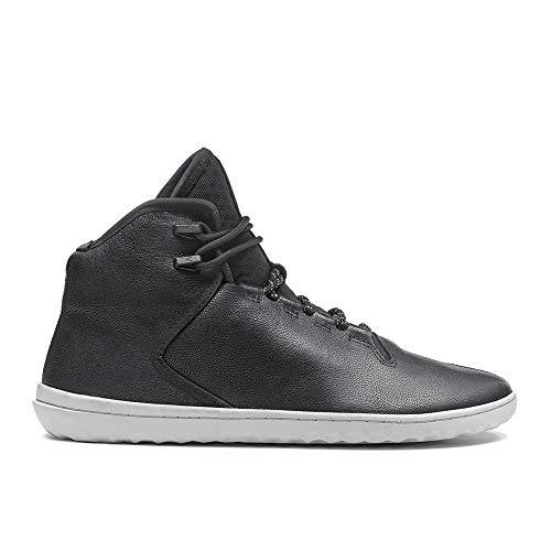 buy online e15c3 77e97 Vivobarefoot Chaussures Borough Homme Black Noir Cuir qzwzd4S