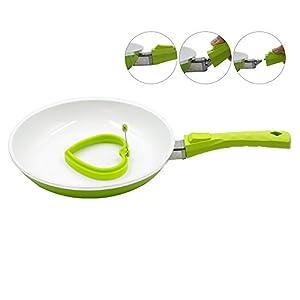 Pococina PO-FP012 Durable No Smoke Healthy Modern Aluminum Ceramic Non-stick Frying Pan Cookware