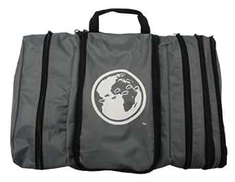 Davidsbeenhere Hanging Travel Toiletry Cosmetics Bag Kit, Grey
