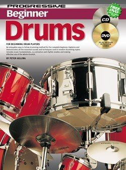 BEGINNER DRUMS: DVD WITH 72 PAGE BOOKLET