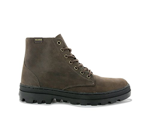 Palladium - Pallabosse Mid M - Chocolate / Black (Braun) - Boots - 46