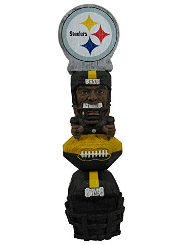 Pittsburgh Steelers Figurine - Forever Collectibles NFL Pittsburgh Steelers Figurine, Team Colors, One Size