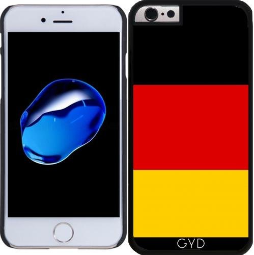 Coque pour Iphone 6 Plus (5,5'') - Drapeau Allemand by BruceStanfieldArtist