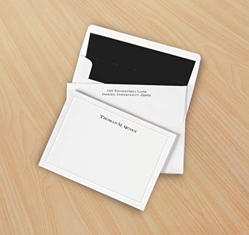 Bordered Correspondence Cards - Set of 25-3515