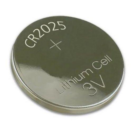 Bateria De Lítio Moeda 3V Cr2025 5 Peças Alb64013 Alfacell