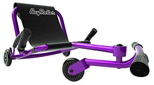 Ezyroller Classic - Purple - Ride On for Children Ages 4+ Years Old - New Twist on Scooter - Kids Move Using Right-Left Leg Movements to Push Foot Bar - Fun Play and Exercise for Boys and Girls -