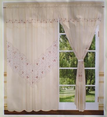Beautiful Artex Windows Curtains