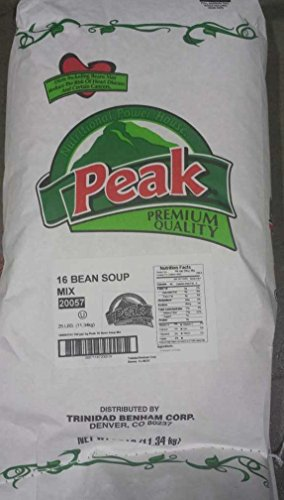 Soup Mix - 16 Bean Combo - 25 lb. Bag
