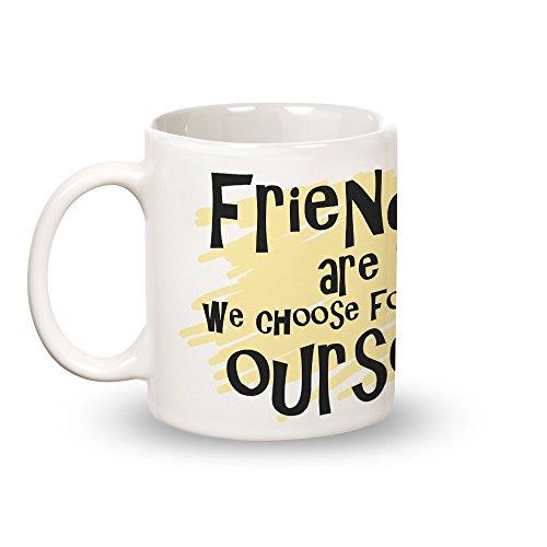 Posterboy 'Friends-Family' Round Ceramic Mug (350ml)
