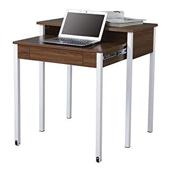 Amazon Com Techni Mobili Retractable Computer Desk With