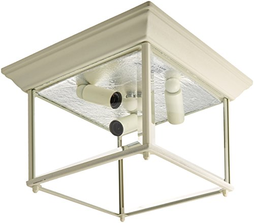 Wh Return Air (Trans Globe Lighting 4905 WH Outdoor Ansel 6.5