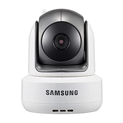 Samsung Wireless HD PTZ Video Baby Camera, White