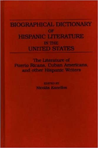 Biographical Dictionary of Hispanic Literature in the United